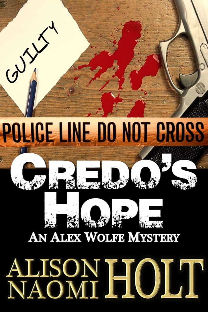 Book one of the Alex Wolfe Mystery Series
